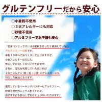 ミックス粉 送料無料  玄米ミックス  魚沼玄米パンミックス (グルテンフリー)(砂糖不使用)IH炊飯器で作る米粉パン 2袋セット(100g×4袋)|kopa-komeko|03