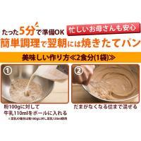 ミックス粉 送料無料  玄米ミックス  魚沼玄米パンミックス (グルテンフリー)(砂糖不使用)IH炊飯器で作る米粉パン 2袋セット(100g×4袋)|kopa-komeko|05