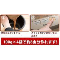 ミックス粉  魚沼玄米パンミックス (グルテンフリー)(砂糖不使用)IH炊飯器で作る米粉パン 2kg (10袋セット(100g×20袋)) kopa-komeko 06