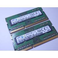 中古ノートPC用メモリ4GB2枚セット メーカー : SAMSUNG 容量 : 4GB x 2 型番...