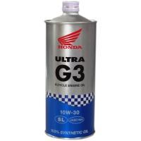 Honda(ホンダ) 2輪用エンジンオイル ウルトラ G3 SL 10W-30 4サイクル用 1L 08234-99961 [HTRC3] ノズル付