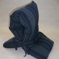 実用とインテリア性を兼ね備えた防災頭巾  内側にポケットが付いていてマスクやハンカチ入れになっていま...