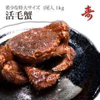 大阪有名店へも卸している寿水産のお得な「毛蟹 1kg」です。 生きている「活毛蟹」を冷蔵し、そのまま...
