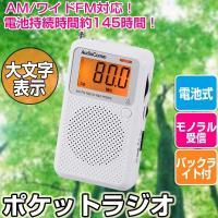 【仕様】 受信周波数:AM 530〜1605 kHz、FM 76〜108 MHz 電源:DC3V 単...
