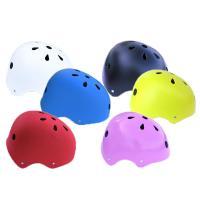 【あすつく】ジュニア用スポーツヘルメット  艶消し(つや消し)カラー  白 黒 青 赤 ピンク   ...