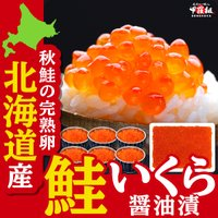北海道産 極上 いくら醤油漬け 500g (約6人前) 化粧箱入り