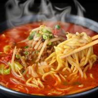 【名称】:黄ラーメン5食セット 【内容量】:麺、濃縮スープ、韓国調味料(タテギ) 【原材料】:【麺】...