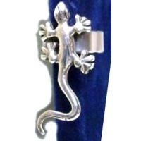 トカゲのイヤーカーフ シルバー925 (1個売りです)|kousuinet