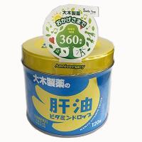 大木製薬 肝油ビタミンドロップ 120粒
