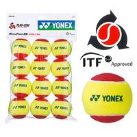 YONEX(ヨネックス)「マッスルパワーボール20(STAGE3 RED) TMP20(12個入り)...