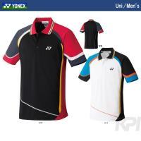 『即日出荷』 YONEX(ヨネックス)「Uni ポロシャツ(スタンダードサイズ) 10146」ウェア...