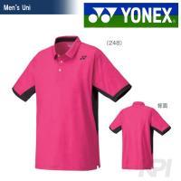 「2016新製品」YONEX(ヨネックス)「Uni ユニポロシャツ 10161」テニス&バドミントン...