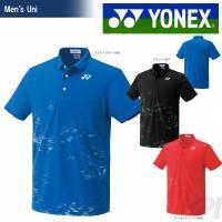 YONEX(ヨネックス)「UNI ポロシャツ(フィットスタイル) 10182」ウェア「2017SS」...