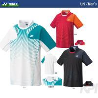 『即日出荷』YONEX(ヨネックス)「Uni ポロシャツ(スタンダードサイズ) 12108」ウェア