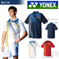 YONEX(ヨネックス)「Uni ユニ ポロシャツ(スタンダードサイズ) 12114」ウェア『即日出...
