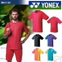 YONEX(ヨネックス)「Men's メンズシャツ(スタンダードサイズ) 12128」テニス&バドミ...