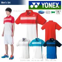 YONEX(ヨネックス)「UNI ポロシャツ(フィットスタイル) 12141」テニスウェア「SS」『...