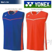 YONEX(ヨネックス)「Men's メンズノースリーブシャツ 12149」バドミントンウェア「SS...