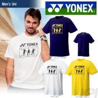 「2017新製品」YONEX(ヨネックス)「UNI Tシャツ 16296」ウェア「2017SS」