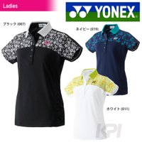 『即日出荷』 YONEX(ヨネックス)「ジュニア レディースポロシャツ(スリムロングタイプ) 202...