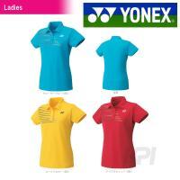 『即日出荷』 YONEX(ヨネックス)「Ladies ウィメンズポロシャツ(スリムロングフィットタイ...