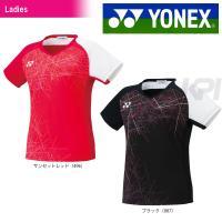 YONEX ヨネックス 「Ladies レディース ウィメンズ フィットシャツ 20385」テニス&...