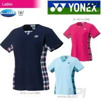「2017新製品」YONEX(ヨネックス)「WOMEN レディース シャツ 20396」ウェア「20...