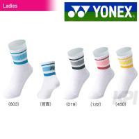 「2016新製品」YONEX(ヨネックス)「Ladies ウィメンズハーフソックス 29100」テニ...