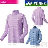 YONEX(ヨネックス)「Ladies レディース スムースハーフジップシャツ(スタンダードサイズ)...
