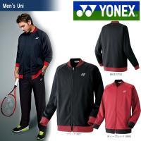 YONEX(ヨネックス)「Uni ニットウォームアップシャツ(アスリートフィット) 51016」ウェ...