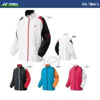 YONEX(ヨネックス)「ジュニア裏地付ウォームアップシャツ 52010J」ウェア『即日出荷』