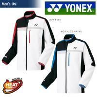 YONEX ヨネックス 「UNI 裏地付きウィンドウォーマーシャツ フィットスタイル  70052」...