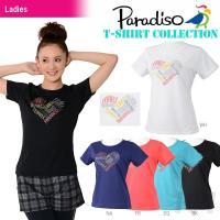 PARADISO(パラディーゾ)「レディース半袖プラクティスシャツ ACL24A」テニスウェア「20...
