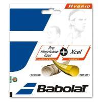 Babolat(バボラ)「プロハリケーンツアー+エクセル BA281032」硬式テニスストリング(ガ...