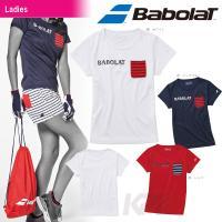 『即日出荷』 「2016新製品」Babolat(バボラ)「Women's レディース Tシャツ BA...