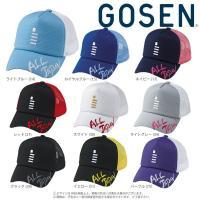 「均一セール」ゴーセン GOSEN テニスキャップ・バイザー  ALL JAPAN オールジャパンキャップ レギュラー C18A01 『即日出荷』