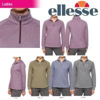 『即日出荷』 Ellesse(エレッセ)「レディース ハーフジップシャツ EA33347」テニスウェ...