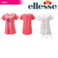 『即日出荷』 Ellesse(エレッセ)「レディース チュニックシャツ EC14119」テニスウェア