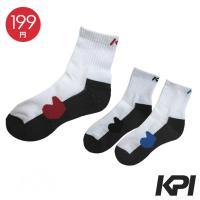 「均一セール」KPI ケイピーアイ 「Men's メンズショートソックス F13P10」テニスウェア KPIオリジナル商品『即日出荷』[ポスト投函便対応]