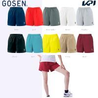 「2017モデル」GOSEN(ゴーセン)「レディースハーフパンツ PP1601」テニスウェア「201...