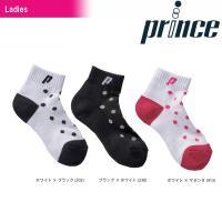 プリンス Prince テニスウェア レディース ショートソックス PS364 2019SS[ポスト投函便対応]