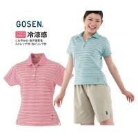 『即日出荷』 GOSEN(ゴーセン)「レディース カジュアルポロシャツ T0913」ウェア「LLL」...