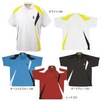 『即日出荷』GOSEN(ゴーセン)「ユニセックス ゲームシャツ T1300」テニスウェア「SS」