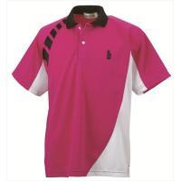 『即日出荷』GOSEN(ゴーセン)「ユニセックス ゲームシャツ T1302」テニスウェア「SS」