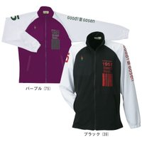 『即日出荷』 GOSEN(ゴーセン)「Uni ライトソフトジャケット UW1110」テニスウェア
