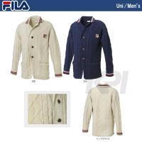 FILA(フィラ)「MEN'S チルデンジャケット VM1024」テニスウェア「2013FW」