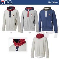 『即日出荷』FILA(フィラ)「MEN'S フーデッドパーカ VM1030」テニスウェア「FW」