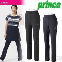 「2017新製品」Prince(プリンス)「レディース スリムフィットパンツ WL7346」テニスウ...