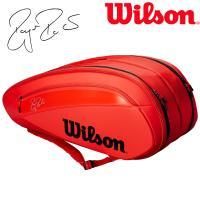 ウイルソン Wilson テニスバッグ・ケース  FEDERER DNA 12 PACK ラケットバッグ 12本入  WRZ830812