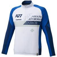 『即日出荷』asics(アシックス)[A77 ハーフジップLSシャツ XA6173]スポーツ